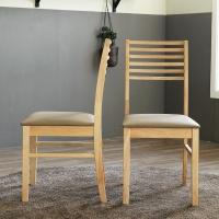 [베스트리빙]로하스 원목의자 1+1