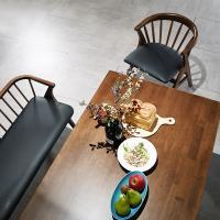 [채우리] 그로잉 6인 원목 식탁세트(의자/벤치)