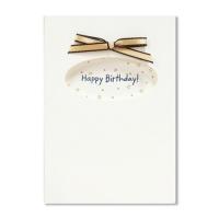 홀마크 생일 축하 카드(골드리본)-KED2212