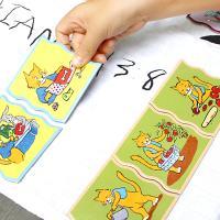 순서 짝맞추기 퍼즐 (3세이상, 논리적 순서, 매칭)
