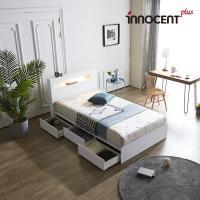 [이노센트] 리브 메시아 LED 멀티수납형 침대 SS