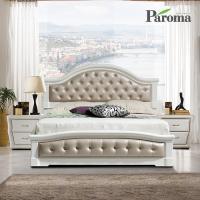 파로마 엥엘 통깔판 클레식 침대(Q)+본넬참숯매트