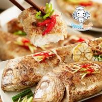 [엔젤쿡] 자연산 손질적돔(도미) 특대 1.2kg(3~4미) AGCHJS0612