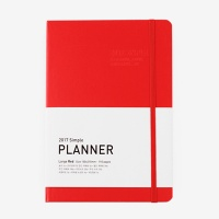 2017 Simple Planner (L) RED (다이어리/플래너/스케줄러)