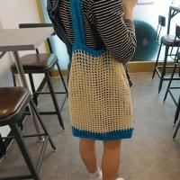 [DIY키트] 리본코튼 그물가방