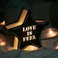 [무료배송] STAR 카피라이트 LOVE IS FEEL