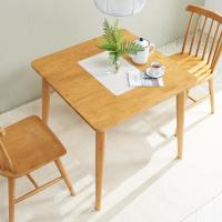 [노하우] 소이 고무나무원목 2인 식탁 (의자미포함)