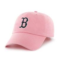47브랜드 MLB모자 보스톤 레드삭스 핑크블랙(한정모델)