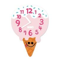니노타임 아크릴 벽시계아이스크림 (대) NTMA-108
