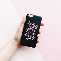 Love is all Black for Phonecase [플래네틸]