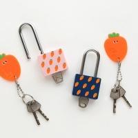 핑크풋 당근 자물쇠(열쇠형)