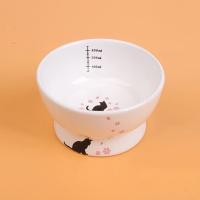 [봉봉펫닷컴] 고양이 세라믹 식기 (핑크)