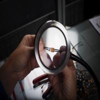 [일본3R정품] 스몰리아 LED 돋보기 확대경 XC 보급형