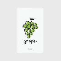 [어프어프] 보조배터리 Grape-green