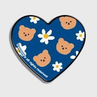 Dot flower bear-blue(하트톡)