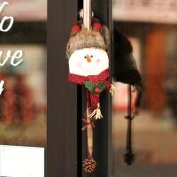 크리스마스 문고리 인형장식 (눈사람)