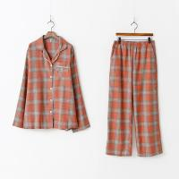 Square Check Pajamas Set - 커플룩