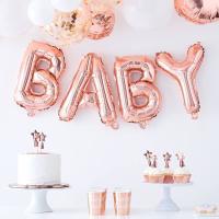 베이비 호일풍선 가랜드 Baby Balloon Bunting