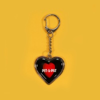 HEART STEEL KEY HOLDER_HEART