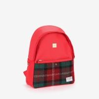 [sweetch] DAYPACK S X HARRIS TWEED Red