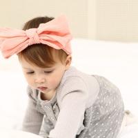 [인디고샵] 피치 그레이스 아기 헤어밴드