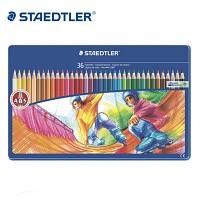 스테들러 36색 색연필/메탈케이스