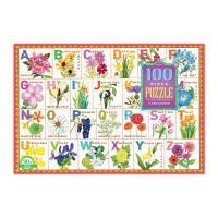 플라워 알파벳 100 피스 퍼즐 (완성크기 47X69cm)