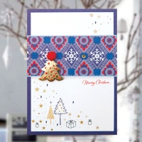 크리스마스카드/성탄절/트리/산타 츄리 크리스마스카드 FS1024-4