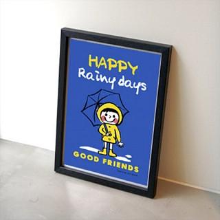 GOOD FRIENDS 포스터 - 네이비