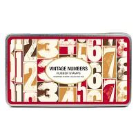 Cavallini 스탬프세트-Vintage Numbers (CSPL - 4)