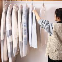 반투명 의류 옷 드레스 코트 덮개 커버 행거 (특대)