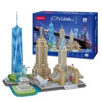 3D퍼즐 시티라인 뉴욕