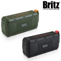 브리츠 휴대용 방수 블루투스4.0 스피커 BZ-V3000 (통화+음악 / 마이크 내장 / MicroSD카드 입력 단자 /  IPX6 방수 등급 / 외부입력 AUX 단자 / USB충전)