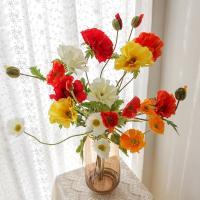 포홈 양귀비 왕꽃 가지부쉬 4color