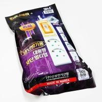 차단 멀티탭 2구 3M (냉난방기용) 대용량멀티탭