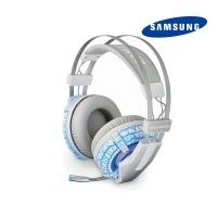 삼성 게이밍 진동헤드셋 SHS-G1000UW (7.1서라운드 음향 / 노이즈켄슬링 / 7가지 LED)