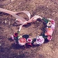 블루밍러브 플라워크라운 (Limited Blooming-Love 빈티지셀프웨딩 신부화관)