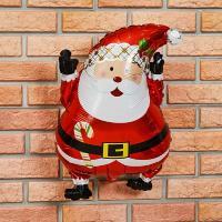 크리스마스 은박 산타풍선 쥬니어쉐입