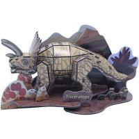 36피스 우드락 입체퍼즐 - 트리케라톱스