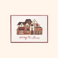 [일러스트 크리스마스카드] 07따뜻한 집