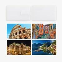 [1+1] [메모렛] 카드형 32G USB메모리 유럽여행편