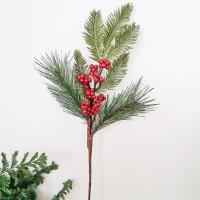 크리스마스 베리 부쉬 데코 1P