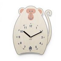 [BEZIT] TALENTED MONKEY Wall Clock(무소음벽시계)