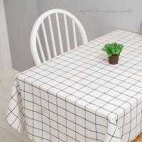 [2HOT] 내추럴 화이트 식탁보 100x140
