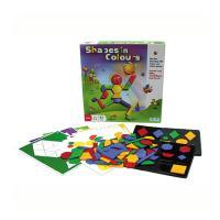 색깔 도형 보드게임 (3세이상, 1인, 유아)