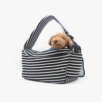 Daily slingbag_Stripe Black