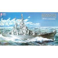 미조리 미해군전함 프라모델 합동과학 1/400스케일 전투함 해군전함 모형