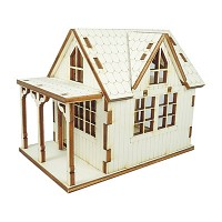 인형의 집 만들기 다락방 하얀집 만들기 키트 ARCH2015008