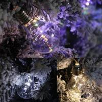 [2HOT] LED 드럼 75P 60mm 에디슨 투명선