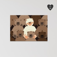 (유기견후원)독맨 엽서-teddy dog